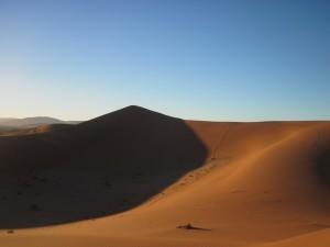 村上さんのお気に入りのナミビアの景色