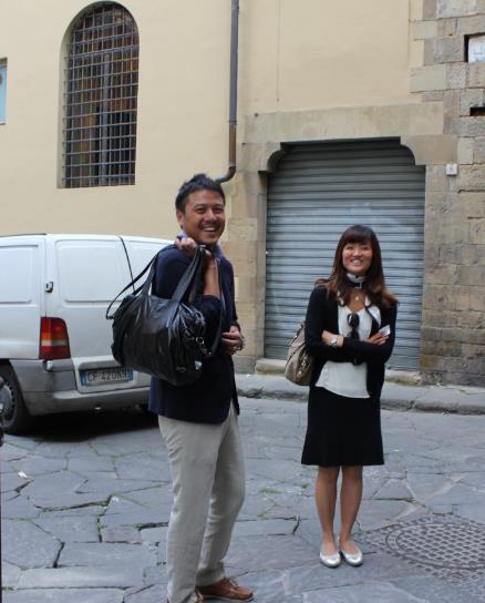 海外でがんばる人の物語 Stories【片庭未芽さん /イタリア 】 名門テーラーを訪ねて